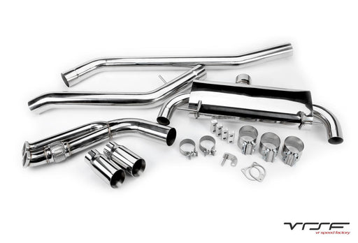 VRSF 3.5″ N54 & N55 Catback Exhaust E90 & E92 07-13 BMW 335i/335is