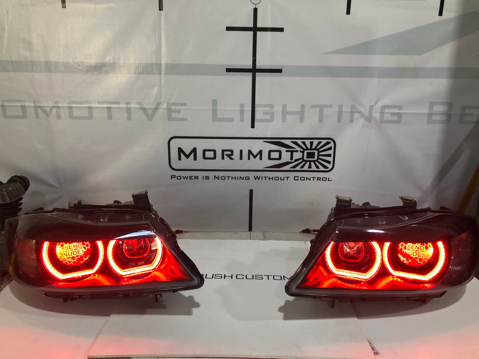 DTM RGBW CHASING HALOS