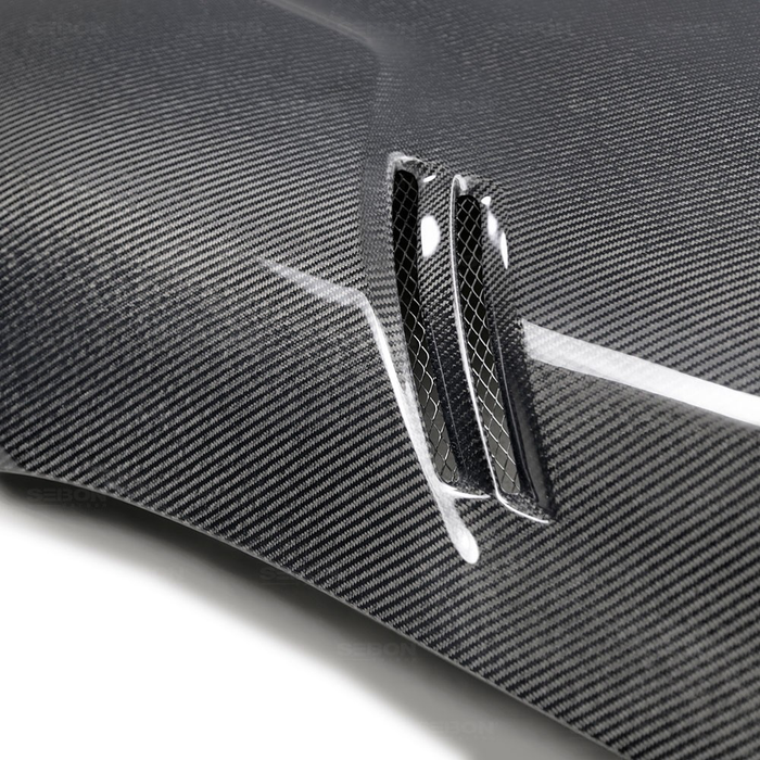 VS-STYLE DOUBLE-SIDED CARBON FIBER HOOD FOR 2020 TOYOTA GR SUPRA