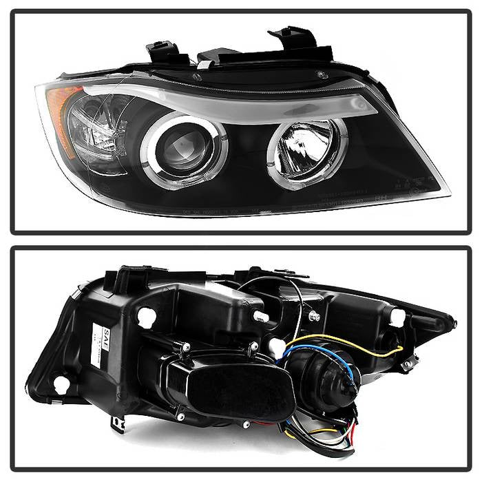 Spyder Auto BMW E90 3-Series 06-08 4DR Projector Headlights
