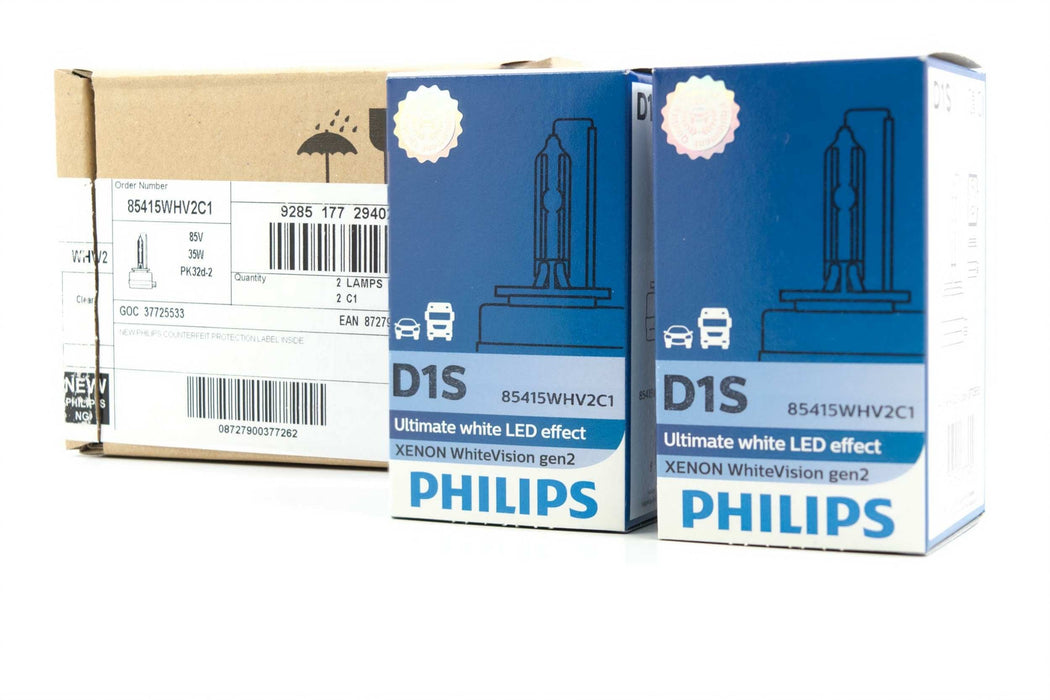 D1S: PHILIPS 85415 WHV2 WHITE VISION