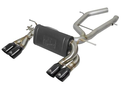 MACH Force-Xp 304 Stainless Steel Axle-Back Exhaust System Bmw M3/M4 S55