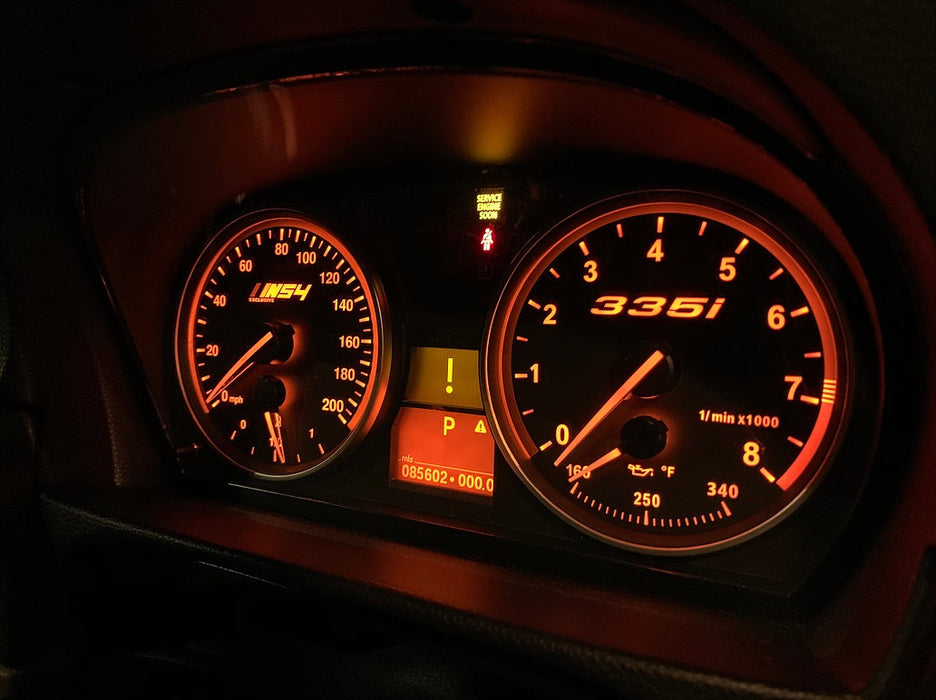 Gauge Faces for BMW 335i, 335xi, 335is and 535i