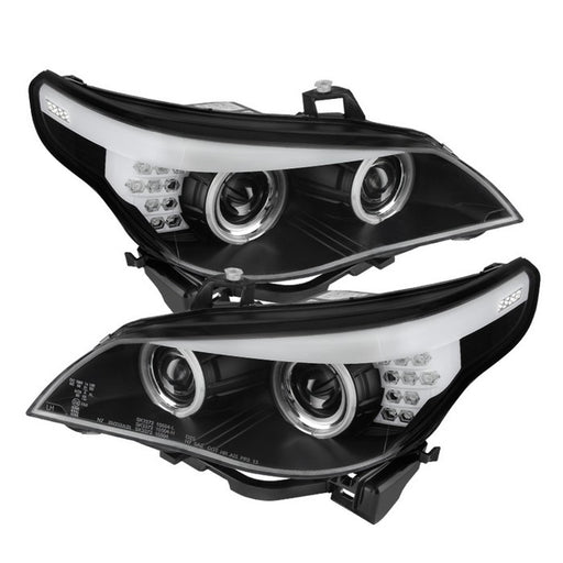 Spyder Auto BMW E60 5-Series 04-07 Projector Headlights - Halogen Model Only