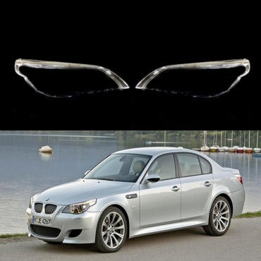 BMW 5 E60/E61 (2003-2009) - HEADLIGHT LENS PLASTIC COVERS
