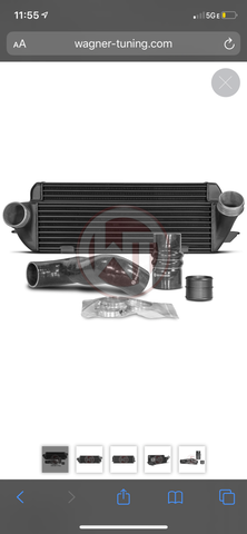 WAGNER TUNING Competition Intercooler Kit EVO 2 BMW E82 E90
