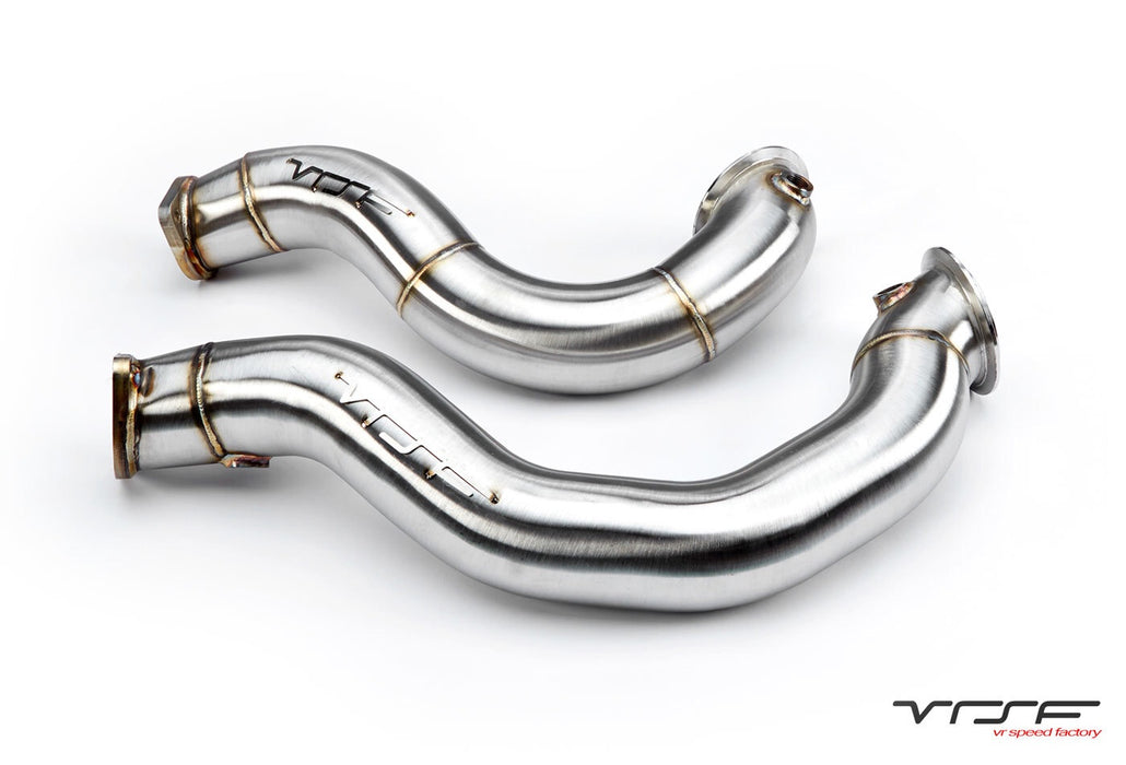 VRSF 3″ Cast Stainless Steel  Downpipes V2 N54 07-10 BMW 335i / 08-10 BMW 135i