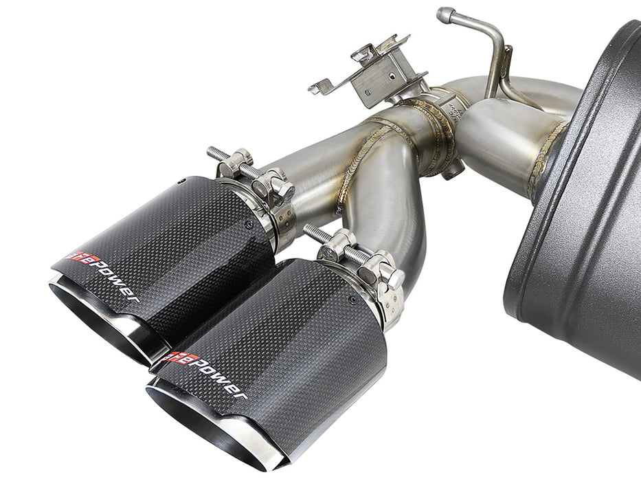 MACH Force-Xp 304 Stainless Steel Down-Pipe Back Exhaust System M2 Comp