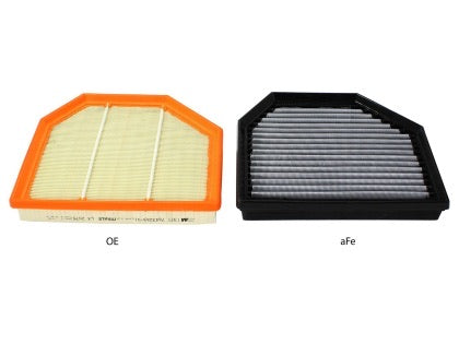 aFe MagnumFLOW OEM Replacement Air Filter PRO Dry S F8X BMW M3/M4
