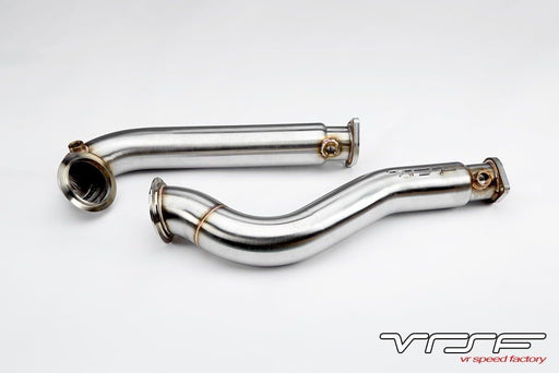 VRSF 3″ Stainless Steel Catless Downpipes 2008 – 2010 BMW 535i & 535xi E60 N54
