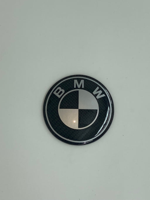 Carbon Fiber Hood/Trunk Emblem 82MM INTRO PRICING