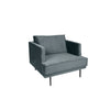The Duchess velvet loveseat