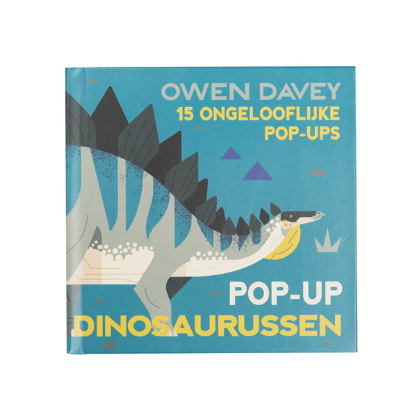 Boek Pop-up dinosaurussen