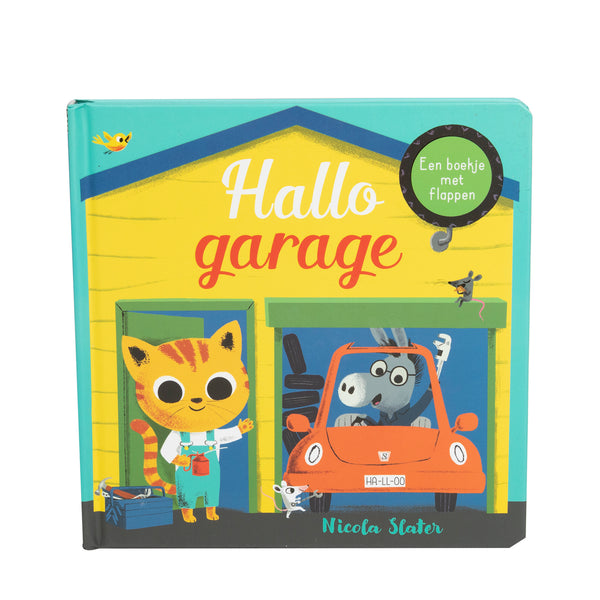 Boek Hallo garage
