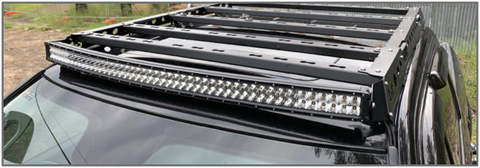 "Adventure Rails 50"" Curved LED Light Bar w/ Brackets"