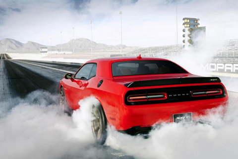 Dodge Challenger Hellcat Line Locker Burnout Box