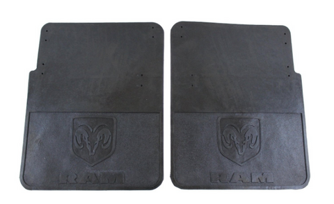 Ram 3500 Dually Rubber Mud Flaps