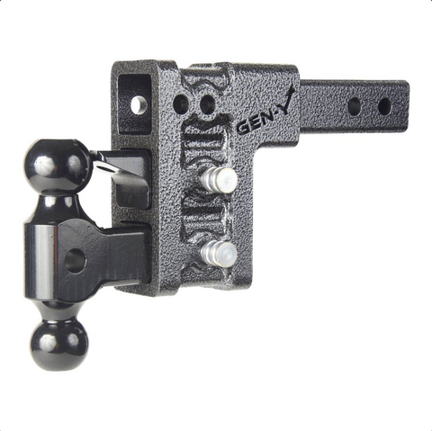 "Gen-Y 5"" / 3 Hole Drop Adjustable Tow Hitch"
