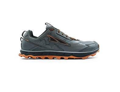 Lone Peak 4.5 Men Gray/Orange