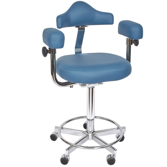 Micro Stool - Hand Operated Adjustment with Memory Foam