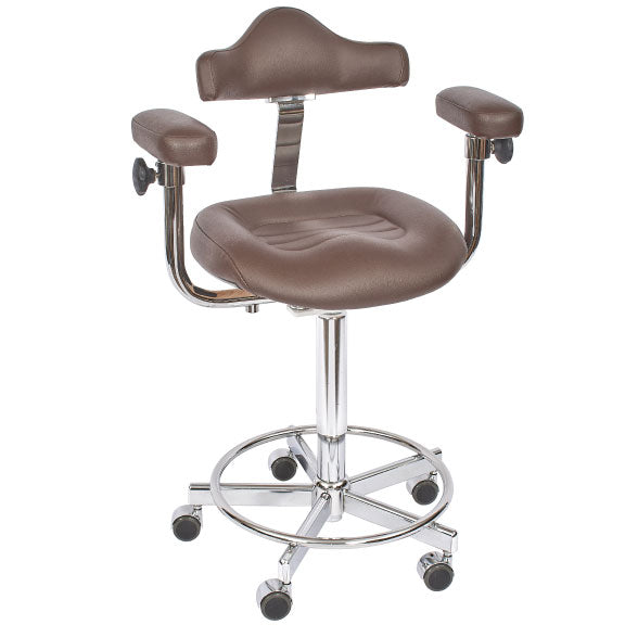 Micro Stool - Hand Operated Adjustment
