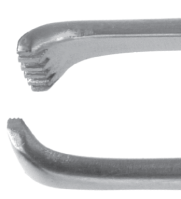 Allis-Coakley Tonsil Forceps - Straight