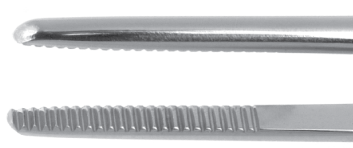Dressing Forceps - 2mm x 19mm Serrated Tips