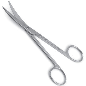 Brown Dissecting Scissors
