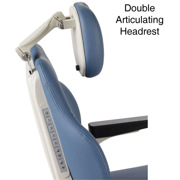 Double Articulating Headrest - Phoenix III