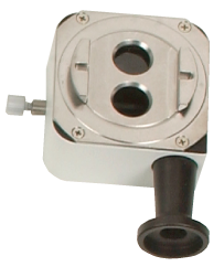 Beamsplitter With Integrated Eyepiece