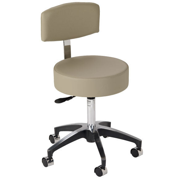 Custom Stool - Pneumatic with Backrest