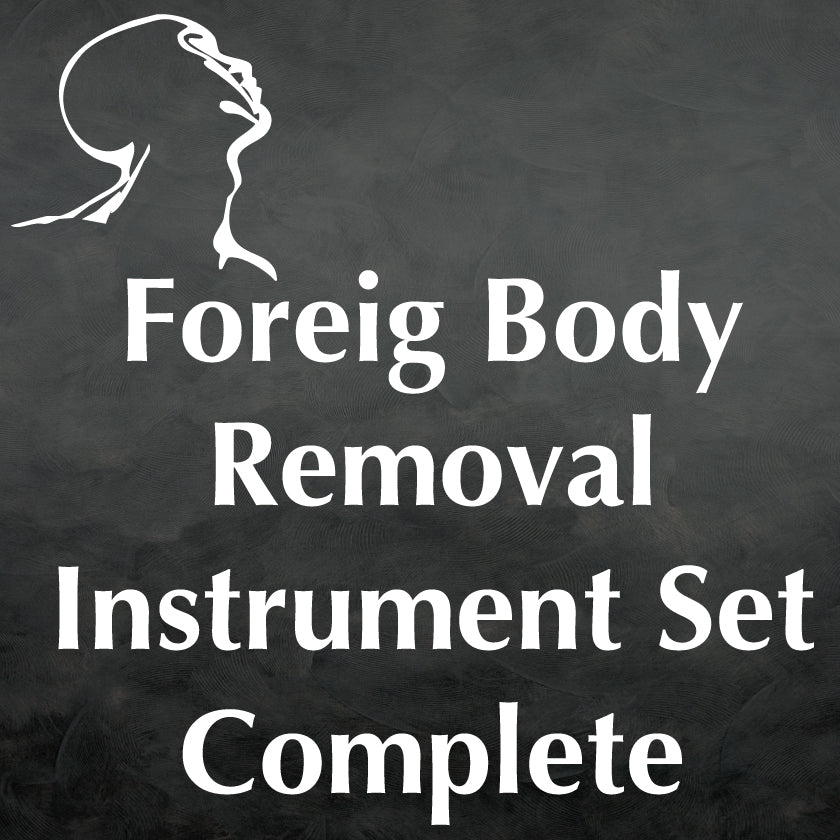 Foreign Body Removal Instrument Set Complete