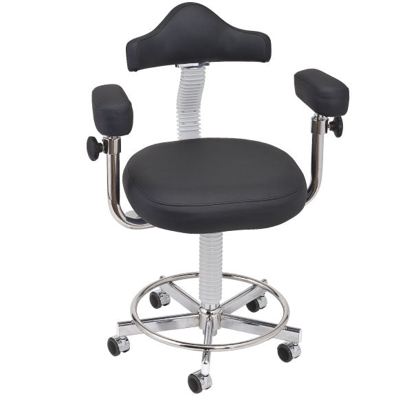 AAE Micro Stool - Hand Operated Adjustment with Memory Foam
