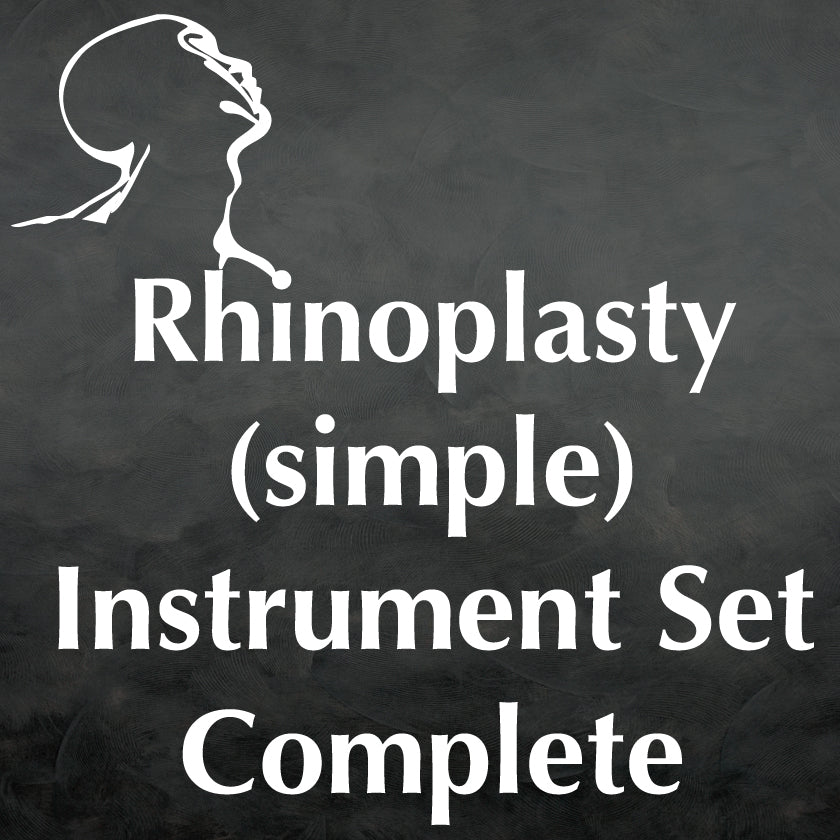 Rhinoplasty (Simple) Instrument Set Complete
