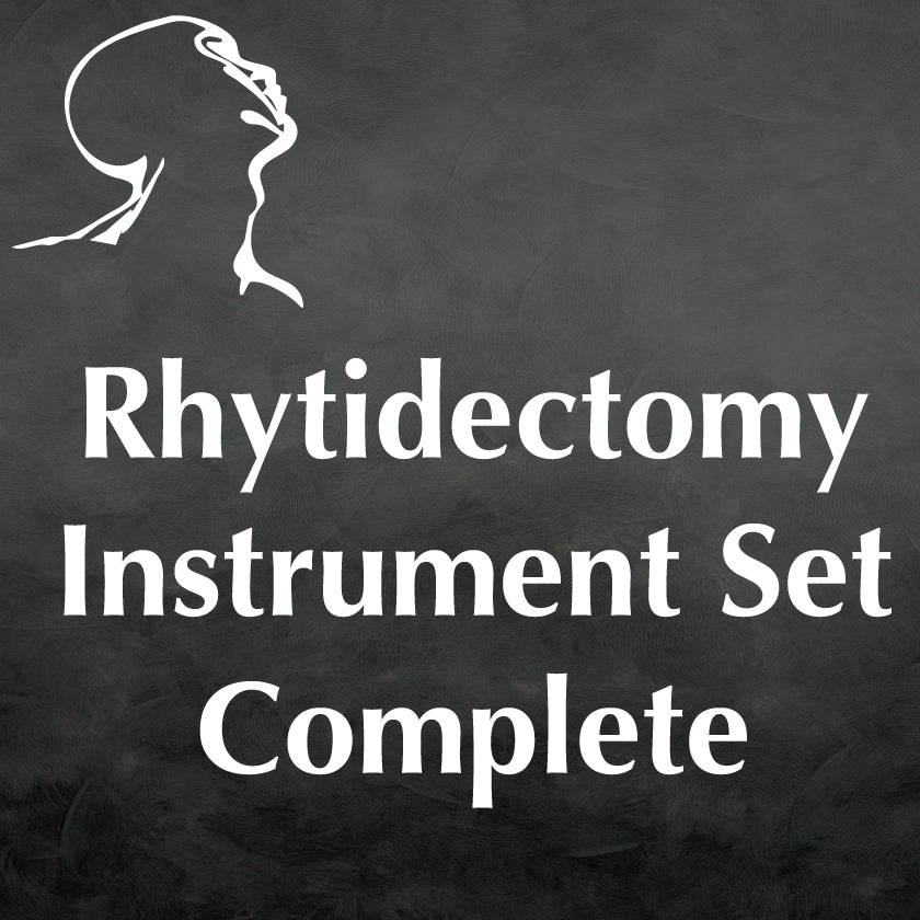 Rhytidectomy Instrument Set Complete