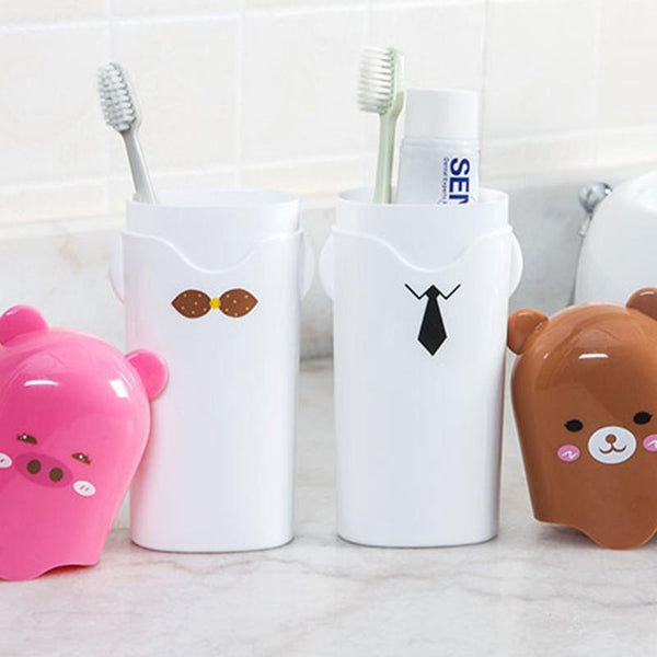 Plastic Toothbrush Case Holder
