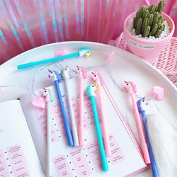 0.35 mm Unicorn Cartoon Gel Pen