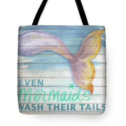 Mermaid Bath II Tote Bag
