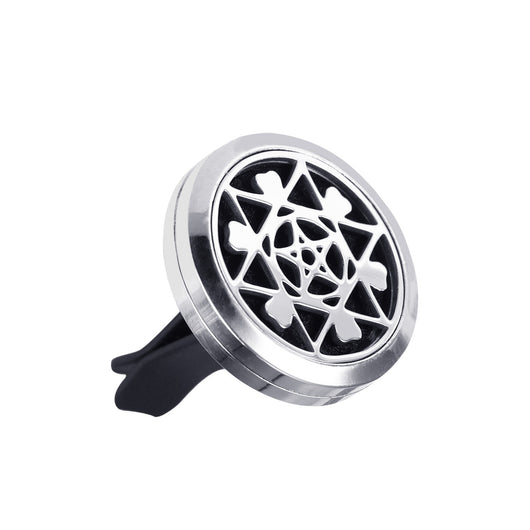 Car Fragrance Diffuser Car Air Vent Freshener Perfume Essential Oil Diffuser Stainless Steel Vent Clip for Aromatherapy