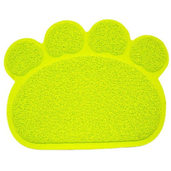 Dog Cat Litter Mat Puppy Kitty Dish Feeding Bowl Placemat Tray Tidy Easy Cleaning Sleeping Pad