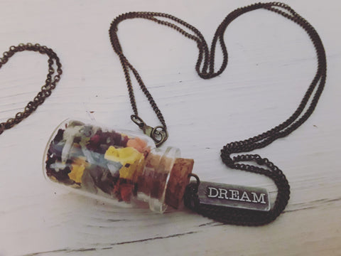 #SMUDGELIFE Soul Sisters Let it Go Tiny Smudge Jar Necklace