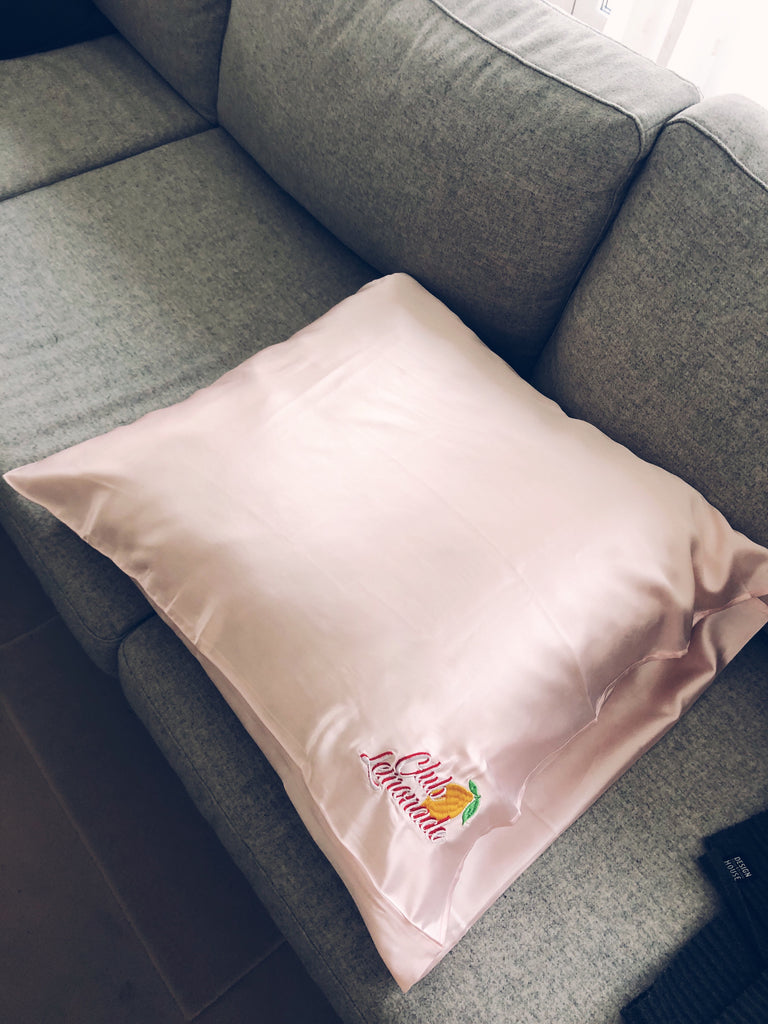 Club Lemonade Silk Pillowcase