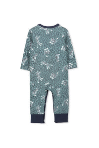 Sea Pine Green Tigers Romper by Milky
