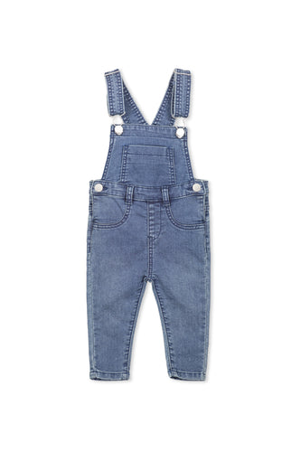 Denim Knit Overall by Milky