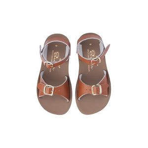 Saltwater Sandals - Sun-San Surfer (Kids) Tan