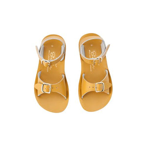 Saltwater Sandals - Sun-San Surfer (Kids) Mustard