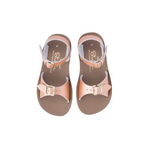 Saltwater Sandals - Sun-San Surfer (Kids) Rose Gold
