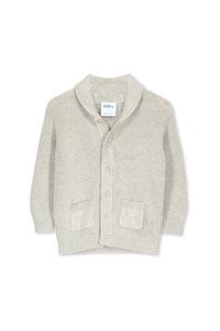 Grey Marle Cardigan by Milky