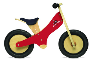 Kinderfeets Balance Bike Red Chalkboard