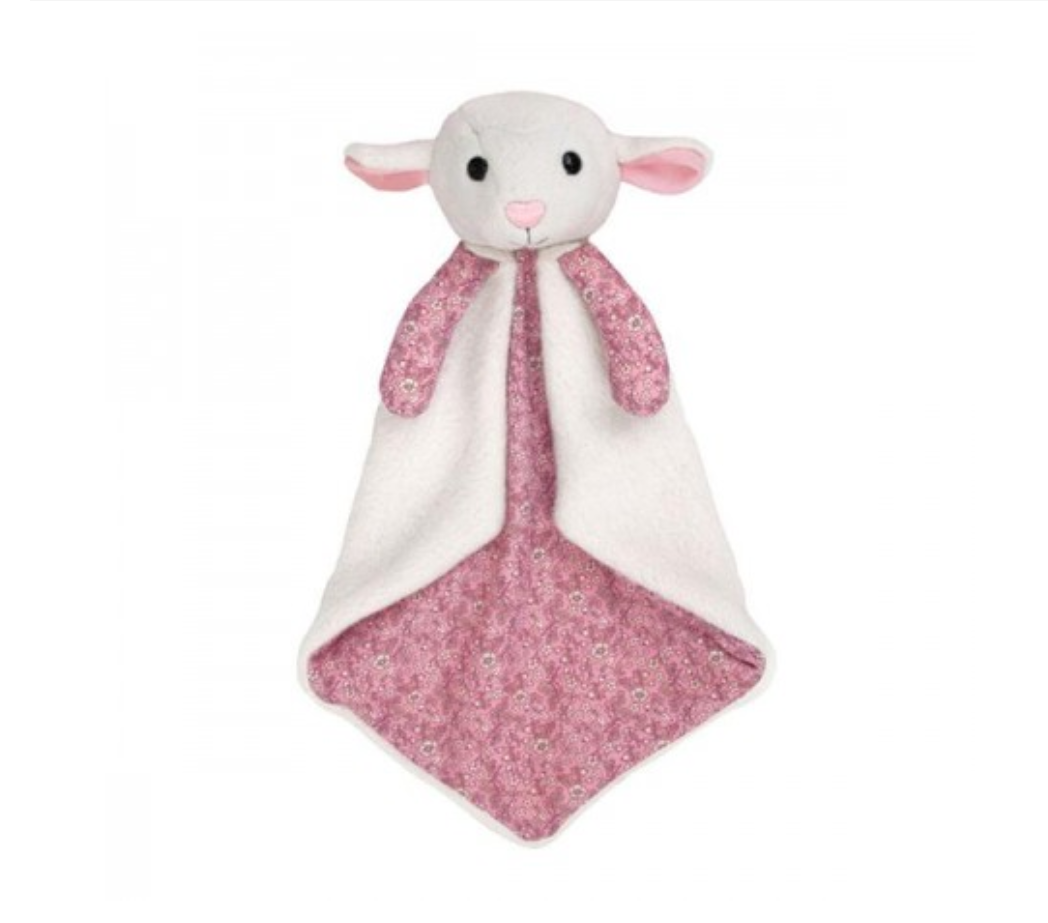 Apple Park Lamby Patterned Blankie